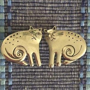 Laurel Burch Vintage Clip On Earrings